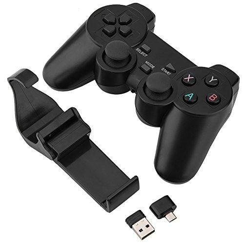 Zetiling draadloze gamecontroller, mobiele Smart Gamepad Bluetooth gamecontroller met joystick voor tv, box, pc, mobiele telefoon