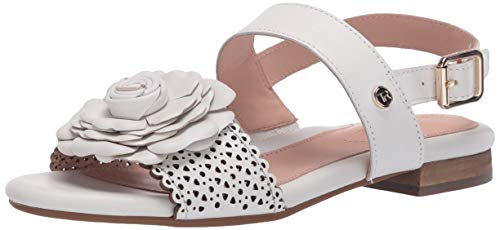 Taryn Rose womens VIRGINIA Ankle strap white, 7