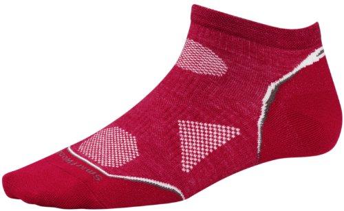 Smartwool Socken S PHD Outdoor UL Chaussettes Femme, Rouge-Rouge-Rouge Persan, Medium