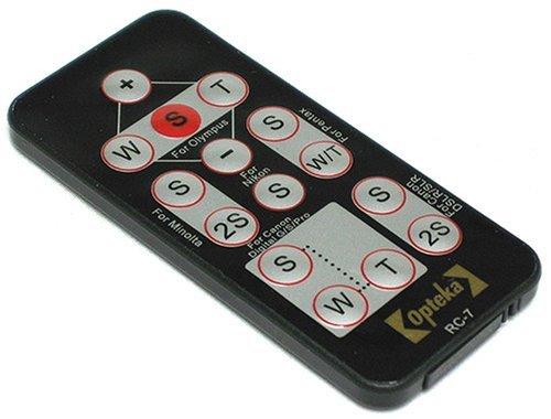 Opteka RC-7 Wireless Remote Control for Nikon SLR D40, D40x, D50, D60, D70, D70s, & D80
