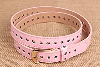 Da DONNA METALLICO CINTURA IN VITA IN ORO ROSA DIAMANTE estensibile Fibbia Fashion
