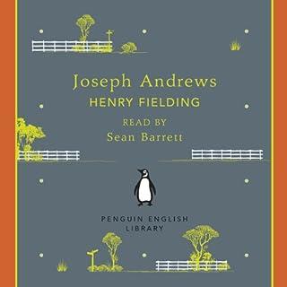 Joseph Andrews audiobook cover art