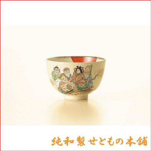 Why Should You Buy Hitokiyo Seven Lucky Gods bowl 13.5xH9cm cosmetic boxed Setoyaki Matcha bowl Matc...