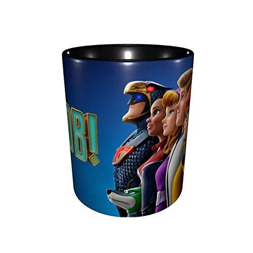 Taza de café Jupsero Scooby-DOO, taza de té para oficina y hogar, tazas de cerámica, tazas, esmalte de doble capa