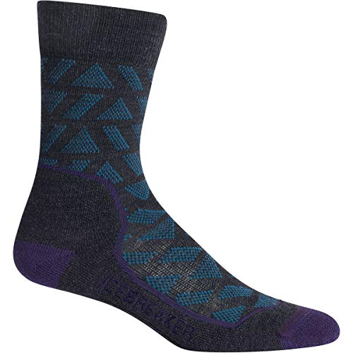 Icebreaker Damen Hike+ Light Crew Stride Socken Wandersocken