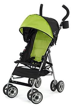 Kolcraft Cloud Lightweight Umbrella Stroller with Large Sun Canopy Spring Green