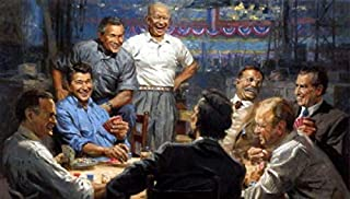 presidents playing pool picture