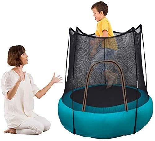 Smartpanda Mini Cama elástica trampolín para niños - Trampolín Fitness Plegable - Carga máxima 100 kg - Trampolín de Fitness, trampolín de Interior y jardín Ideal para niños y Adultos