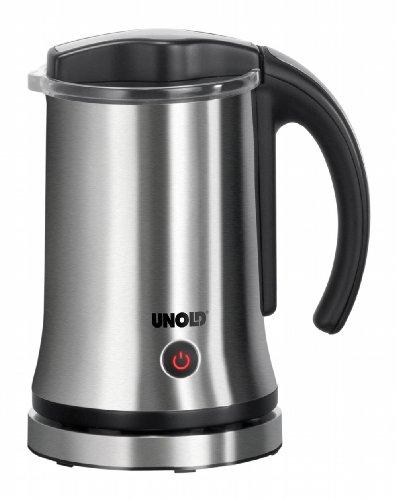Unold 28105 Milchaufschäumer Latte Piccolo 550-650 Watt / 250 ml/Für Milchschaum und heiße Milch