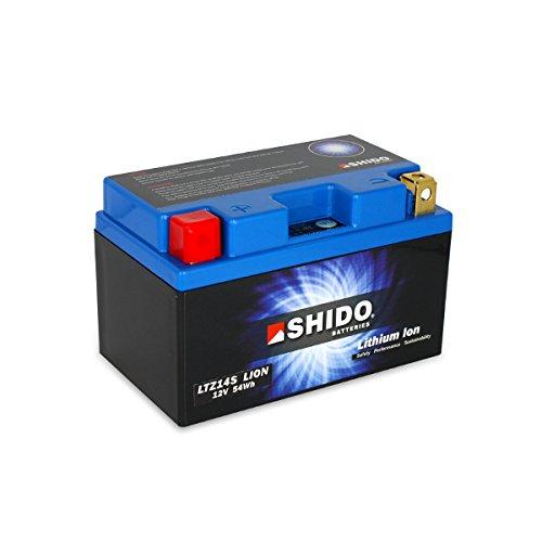 shido ltz14s Lion–S batería de litio, Litio Azul (Precio incluye euros 7,50pfand)