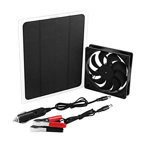 Ventilador Solar portátil Energía Limpia Ahorro de energía de Larga duración Mantiene el Aire Limpio Mini Accesorios prácticos para Ventiladores