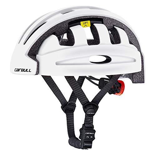 LQQZZZ Casco De Bicicleta para Adultos, Casco De Bicicleta Plegable Y Portátil...
