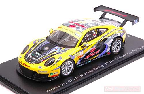 SPARK MODEL MX017 PORSCHE 996 N.14 WINNER CHALLENGE 2008 ALES R.DUMAS 1:43 MODEL