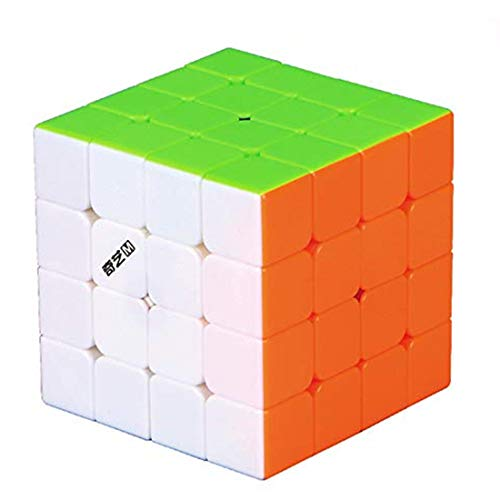 CuberSpeed QiYi MS 4x4 Magnetic stickerless Speed Cube Qiyi Mofangge M 4x4x4 Magic Cube