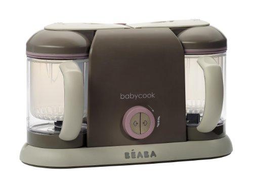 BEABA Baby cook - Robot de cocina Duo, color rosa