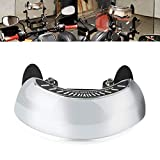 Accesorios para motocicletas Espejo retrovisor Espejo retrovisor de 180 grados de ancho Adecuado para la mayoría de motocicletas, bicicletas de carreras, televisores A todoterreno, bicicletas B MX