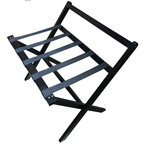 Best Bargain WSNBB Classic Luggage Rack,All Solid Wood Material, Foldable Design for Home,Bedroom & ...
