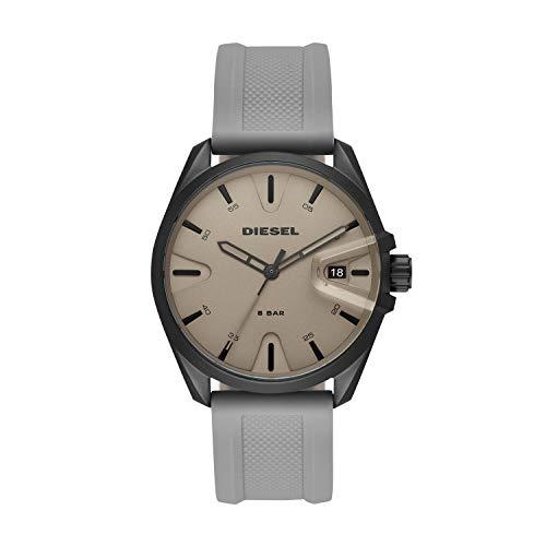 Diesel Men's Watch MS9 Quartz Silicone Gray with Gray Dial DZ1878