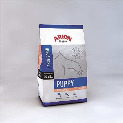 Arion Puppy Large Salmon & Rice Comida para Perros - 12000 gr