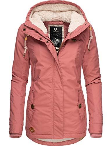 Ragwear Damen Winterparka Winterjacke Monade Rosa019 Gr. XL
