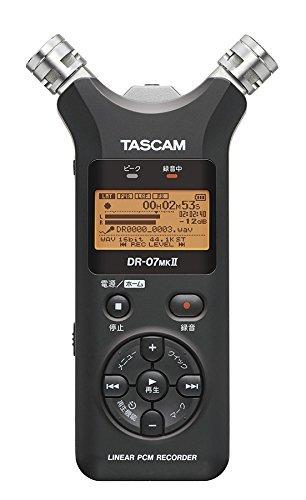 TASCAM『リニアPCMレコーダー(DR-07MK2-JJ)』