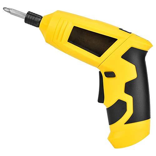 Juego de destornilladores eléctricos 46 en 1, destornilladores de tuercas, taladro eléctrico de litio recargable, herramienta manual, cable USB, 4V TU-131A