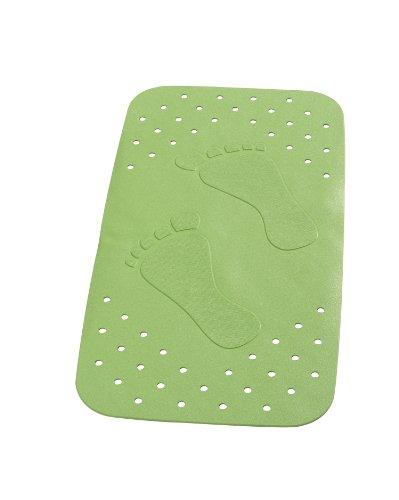 RIDDER 67075-350 Badewanneneinlage ca. 38 x 72 cm, Plattfuß neon-grün