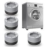 4 piezasPies para lavadora,Lavadora Almohadilla,lavadora con amortiguador de...