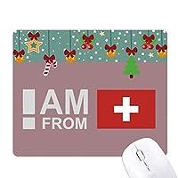 スイスから ゲーム用スライドゴムのマウスパッドクリスマス