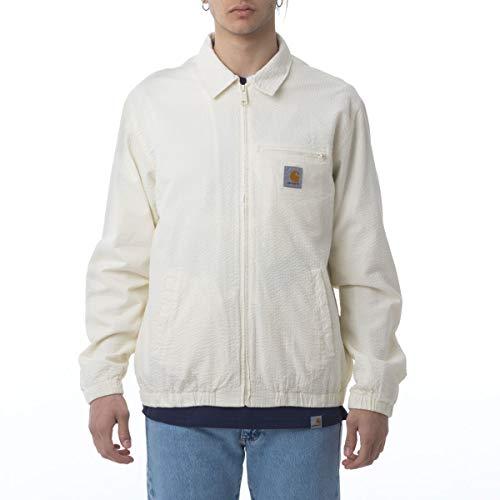 Carhartt Southfield Seersucker Jacke I027534 Wax, Blouson, Weiß Small