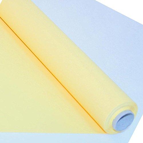 Nappe intissée Dunicel - 1.25X10m - jaune - le rouleau