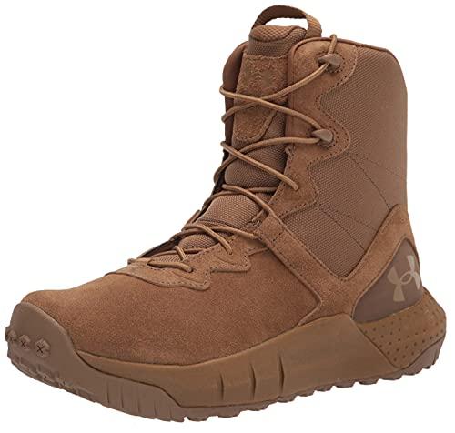 Under Armour 3024009-200_44,5, Zapatos de Trekking Hombre, Brown, 44.5 EU