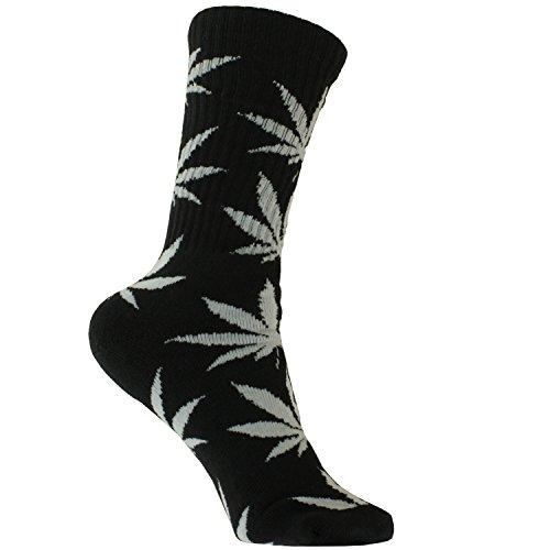 Plantlife® Socken Hanf Socks in universeller Größe, Unisex - Farbe: schwarz/Weiss