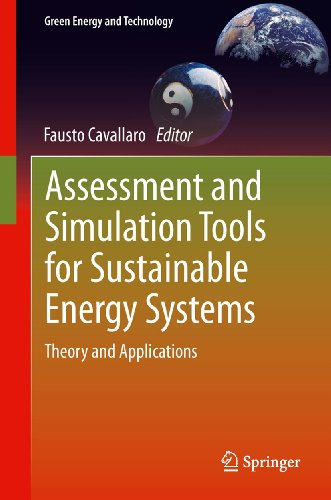 Assessment and Simulation Tools for Sustainable Energy Systems: Theory and Applications (Green Energ