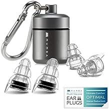 High Fidelity Concert Earplugs, Reusable Musicians Ear Plugs, 24dB Advanced Filter Technology Ear Protection for Music Festivals, DJs, Musicians
