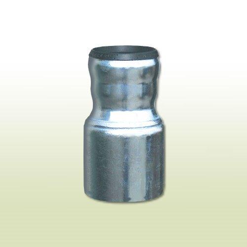 Übergangsstück von KG-Rohr DN 110 für Fallrohr DN80/87