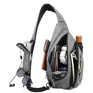 Magictodoor Sling Bag Travel Backpack