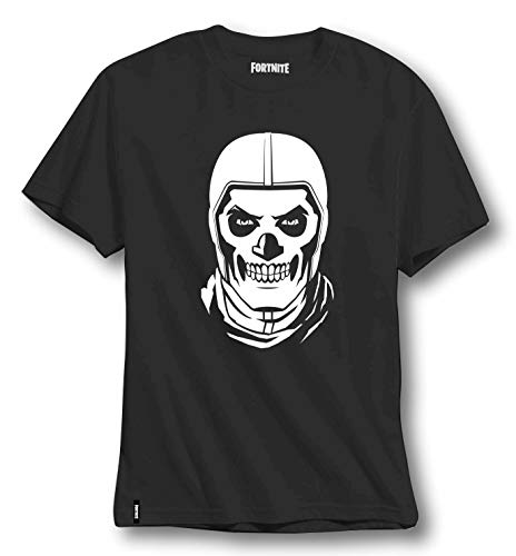 Fortnite Niño Camisetas, Polos y Camisas Negro, 152/12 Años
