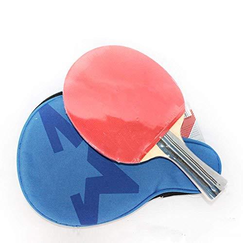 JIANGCJ bajo Precio. Ping Pong Paddle Sporting Boods Doble Cara antiadhesivo Tenis Raqueta Piso Pure Wood Shade Hands Hands Hands (Color : Multicolored, Size : 15x25cm)