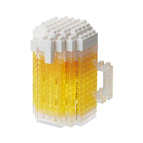 nanoblock NBC-245 Beer Essen Bier Spielzeug, Multi