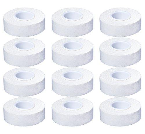 Cawila, Nastro Adesivo Sportivo Premium, Bianco (Weiß), 2,0 cm x 10 m