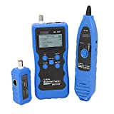 YAOSHI probador de Cable de Red LAN Cable Tester Cable Material Cable Longitud Tester Localizador de Alambre NF-309 PoE Ensayador localizador de Cables subterráneo (Color : NF-309)