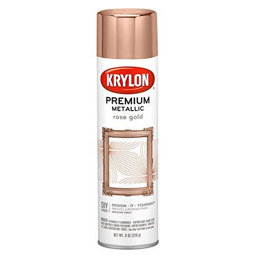 Krylon k01600007 premium metallic aerosol paint, 8 fl oz (pack of 1),...