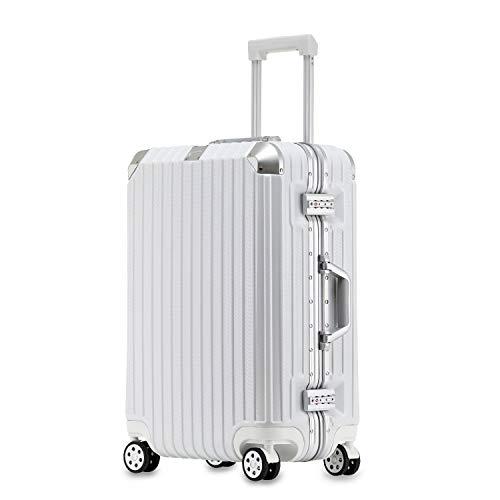 TABITORA(タビトラ) スーツケース キャリーケース 大型 キャリーバッグ TSAロック アルミフレーム 8輪 軽量 大容量 静音 ビジネス出張 海外旅行 レトロ