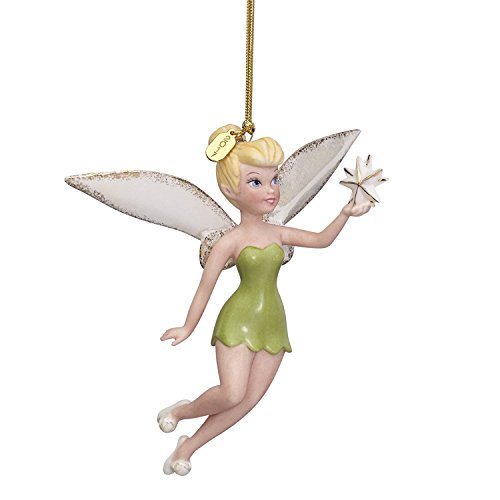 Lenox Disney 2017 Tinkerbell Ornament Figurine Annual Up & Away Christmas