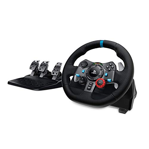 Logitech Racing stuurwiel Driving Force PS4/PS3/PC. zwart
