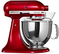 Kitchenaid Artisan 4.8l 300w Stand Mixer-candy Apple (model:5ksm150psbca)