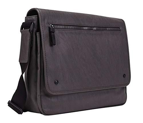 Leonhard Heyden Cult Messenger Bag Horizontal M Grey