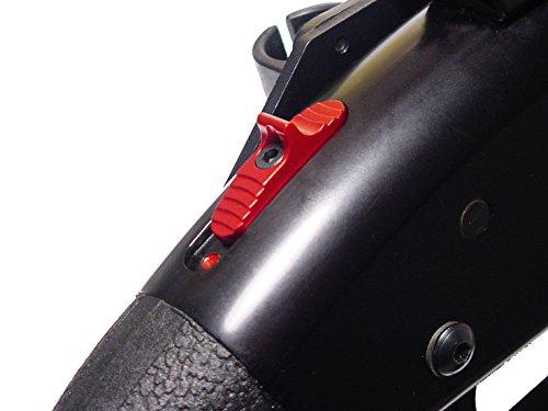 for Mossberg 500 590 835 930 935 Shockwave Enhanced Slide Safety by NDZ Blue