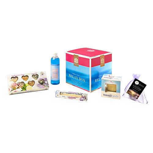 Heute ist Entspannung angesagt! Und zwar mit der RELAX BOX der Bademeisterei aus Österreich / 5 hochwertigste Entspannungskosmetikprodukte in einer tollen Geschenkbox / ausprobieren und entspannen!